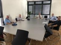 Albrecht Schütte vor Ort: Planungen für Radwege kommen voran
