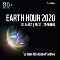 Earth Hour 2018 am Samstag, 24. März 2018