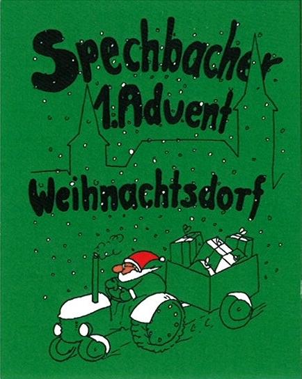 Spechbacher Weihnachtsdorf am 1. Advent